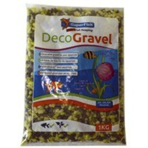 SuperFish SuperFish Deco grind mix groen 1 kg