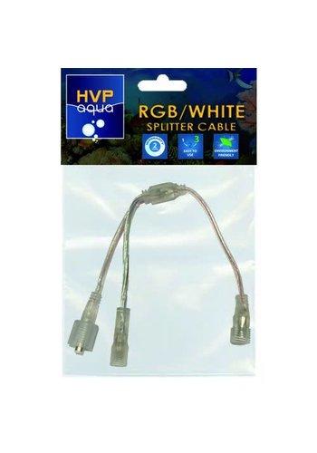 HVP Aqua Splitterkabel > Wit+RGB