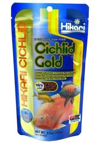 HIKARI CICHLID GOLD MINI 100 GRAM ZINKEND
