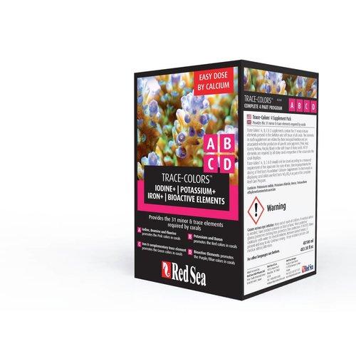 Trace-Colors™  Starter Kit A,B,C&D  4x100ml