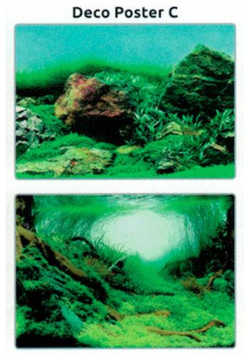 SuperFish Deco poster C4 120X49 CM