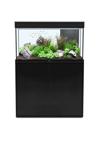 aquatlantis fusion 100 aquarium zwart set met LED