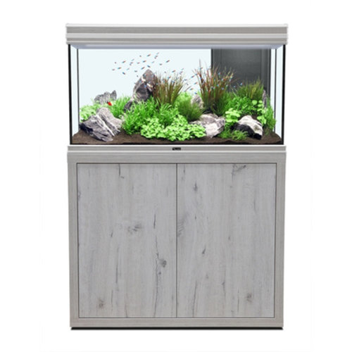aquatlantis aquatlantis fusion 100 aquarium white wash set met LED