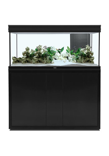 aquatlantis fusion 120 aquarium  zwart set met LED