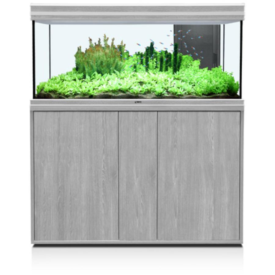 aquatlantis fusion 120 aquarium greywash set met LED-1