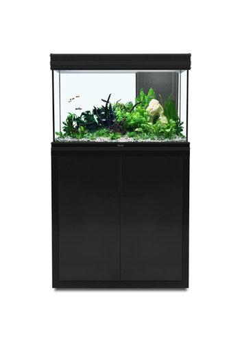 aquatlantis fusion 80 aquarium zwart set met LED