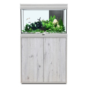 aquatlantis aquatlantis fusion 80 aquarium whitewash set met LED