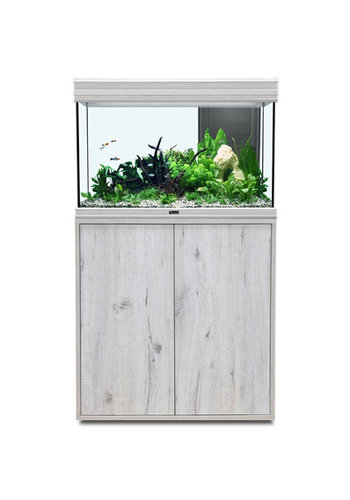 aquatlantis fusion 80 aquarium whitewash set met LED