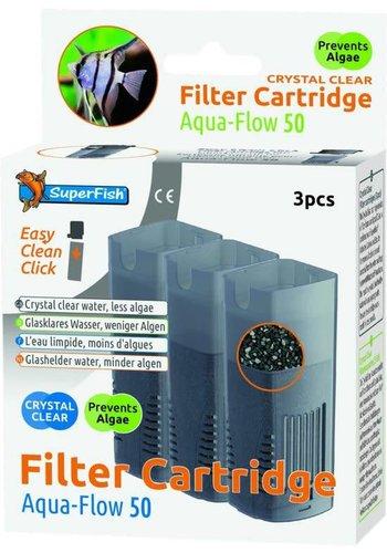 SUPERFISH Filter cartridge Aquaflow 50 crystal clear