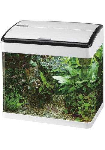 SuperFish Panorama 20 Wit aquarium