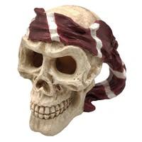 Superfish Skull Red pirate