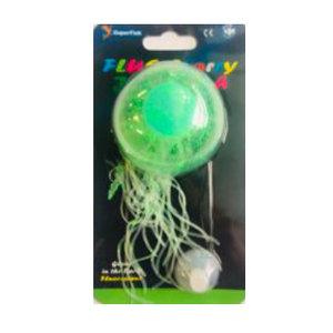 SuperFish SuperFish Fluo starry jellyfish groen L