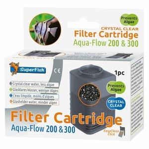 SuperFish SuperFish Aqua-Flow 200/300 Crystal Clear Cartridge 1 stuk