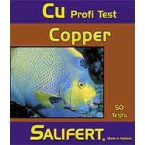 Salifert Copper/koper Cu profi test