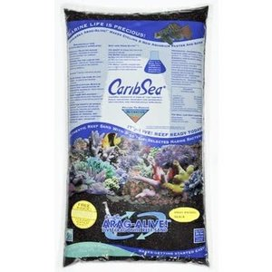 Caribsea CaribSea Indo-Black 9,07kg 0-1mm