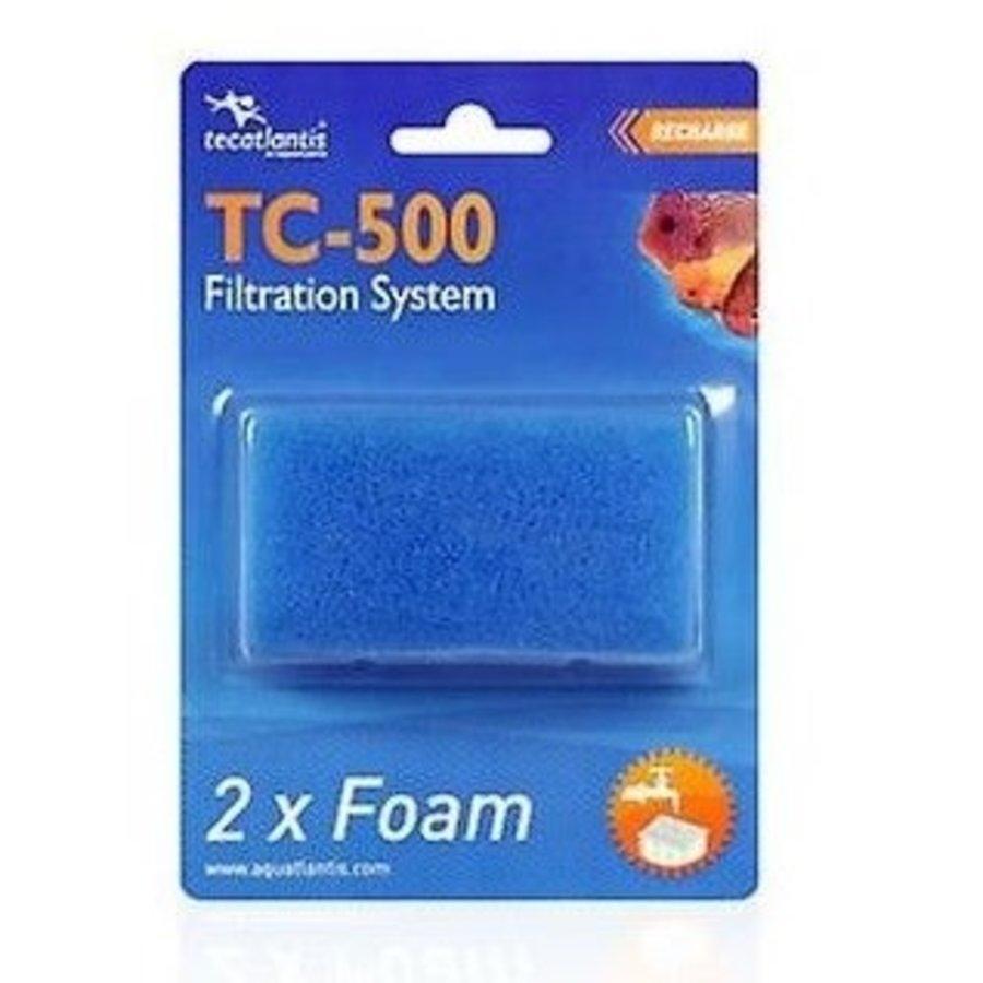 Aquatlantis Filterspons tbv TC500 Tortum per 2 stuks-1