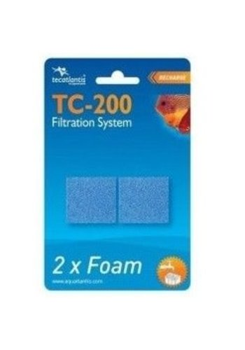 Aquatlantis Filterspons Fijn voor TC200 2 stuks