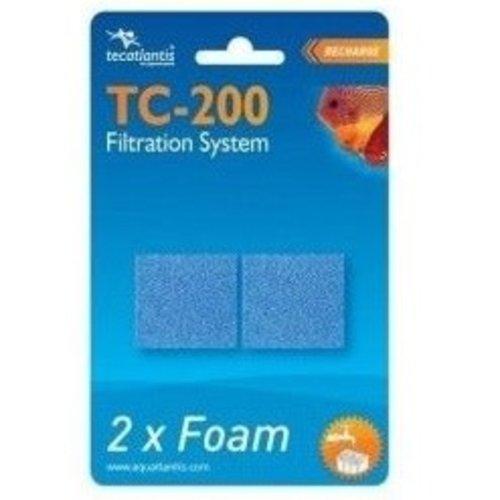 aquatlantis Aquatlantis Filterspons Fijn voor TC200 2 stuks