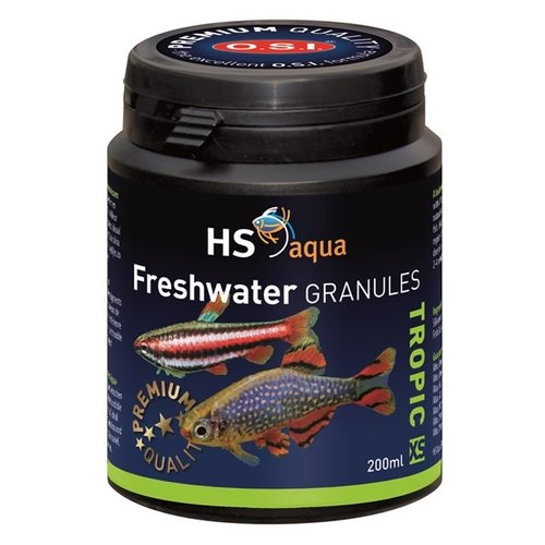 HS Aqua HS Aqua Freshwater Granules XS 200 ml