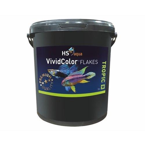 HS Aqua HS Aqua Vivid Color Flakes 10 L