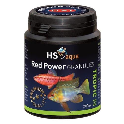 HS Aqua HS Aqua Red Power Granules XS 200 ml