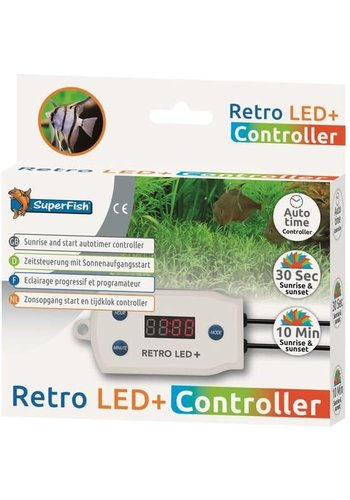 Superfish Retro LED+ controller