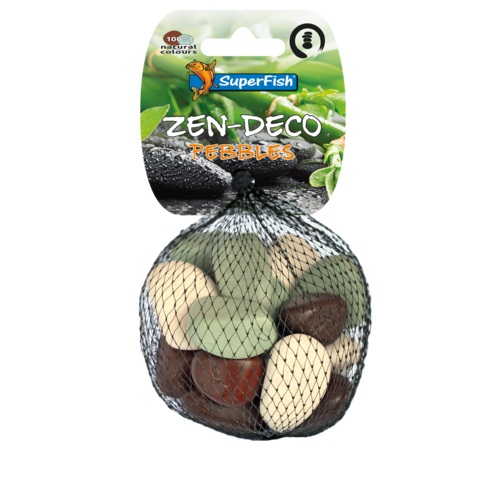 SuperFish SuperFish Zen Pebble mix S 15 stuks