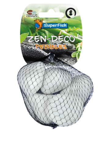 SuperFish Zen Pebble wit M 5 stuks