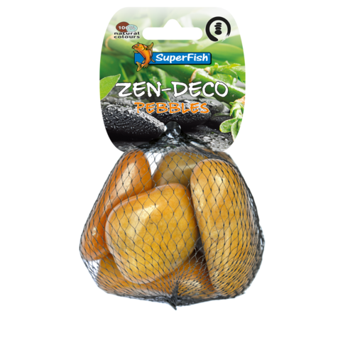 SuperFish SuperFish Zen Pebble geel M 5 stuks