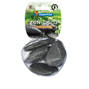 SuperFish SuperFish Zen pebble medium zwart 450 gram