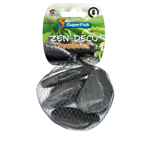 SuperFish SuperFish Zen Pebble zwart M 5 stuks