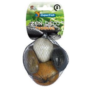 SuperFish SuperFish Zen Pebble mix M 5 stuks