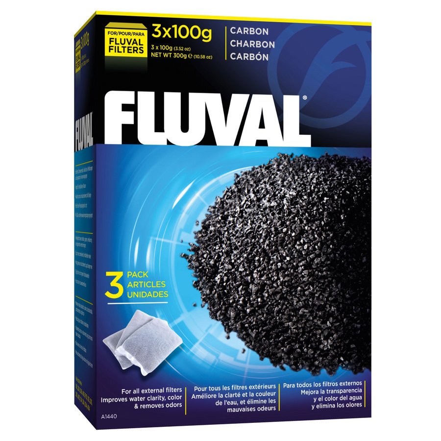 Fluval Actieve Kool 300 g Filtermateriaal-1