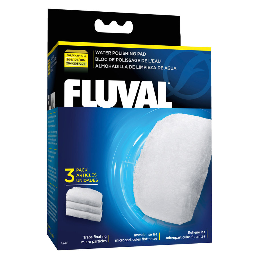 Fluval Quick-Clear 106/206, 107/207 Filtermateriaal-1