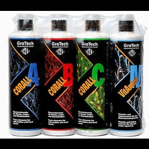 GroTech GroTech Corall set A,B,C & Vitamino M 500 ml