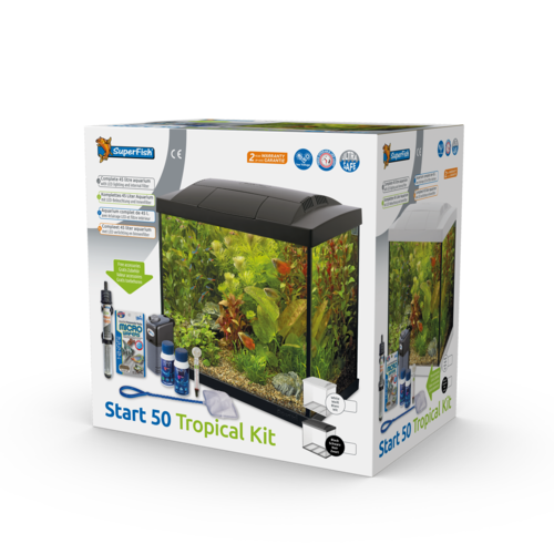 SuperFish SuperFish Start 50 Tropical Kit wit Aquarium
