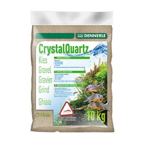 Dennerle Dennerle Kristal Grind Natuurwit 1-2 mm 10 kg
