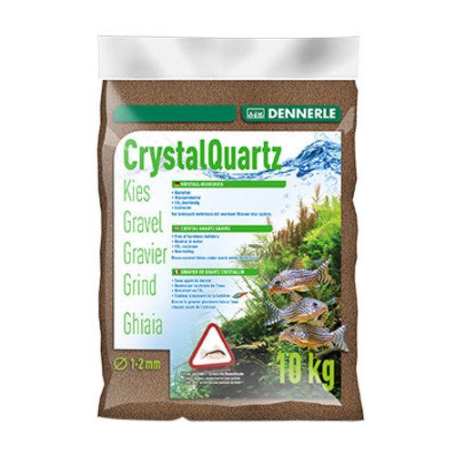 Dennerle Dennerle Kristal Grind Donkerbruin 1-2 mm 10 kg Bodemmateriaal