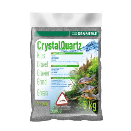 Dennerle Dennerle Kristal Grind Leigrijs 1-2 mm 5 kg Bodemmateriaal