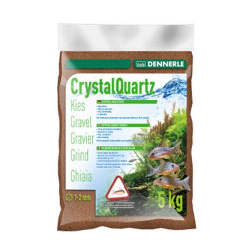 Dennerle Dennerle Kristal Grind Reebruin 1-2 mm 5 kg Bodemmateriaal