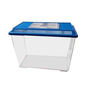 Wave Plastic aquarium Mini 17.5 x 11 x 14.5 cm