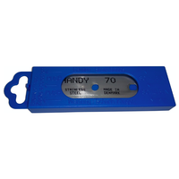 Aqua-Handy blades 0.15mm ss 5bl./display 70mm breed