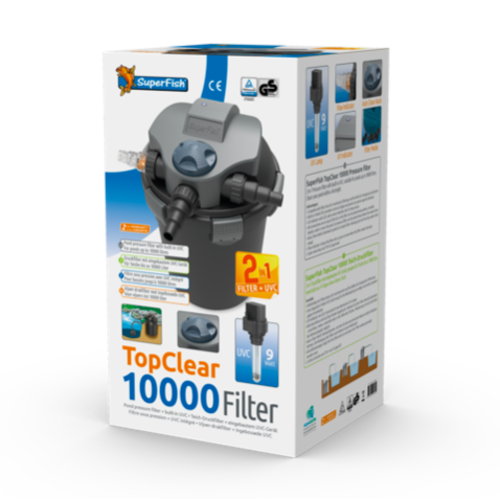 SuperFish SuperFish topclear 10000 UVC - 9W