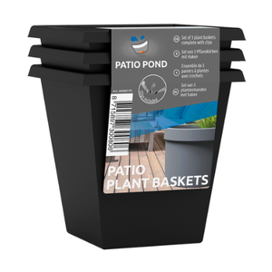 SuperFish SuperFish patio pond mandje & haken 3st