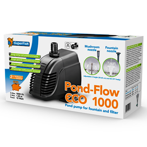 SuperFish SuperFish pond flow eco 1000