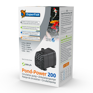 SuperFish SuperFish pondpower 200