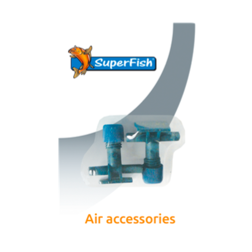 SuperFish SuperFish Luchtslang kraan 2 stuks