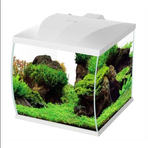 HS Aqua HS Aqua Aquarium Belly 30 led wit 31x34x32 cm