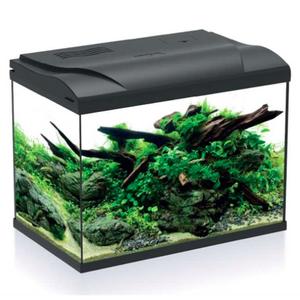 HS Aqua HS Aqua Aquarium Platy 50 led zwart 49x31x38 cm
