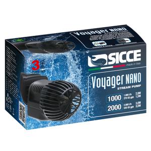 Sicce Sicce Voyager Nano 1.000 l/h stream pump 2.2 mtr kabel